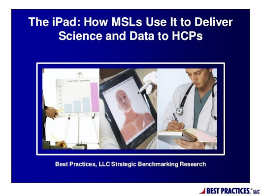 The iPad: How MSLs Use It to Deliver Science and Data to HCPs