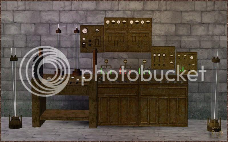 Dr. Frankenstein Lab II. D&M Creations - Demonic. Sims 3