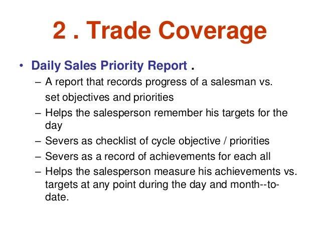 Daily Sales Report Importance | Daily Agenda Calendar