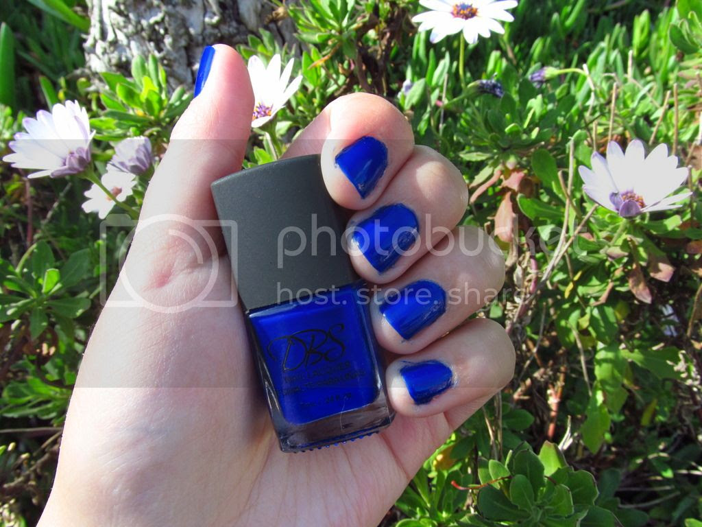 Esmalte Electric Blue DBS Cosmetics