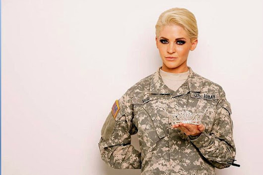 Tattooed National Guard Sergeant Theresa Vail takes on Miss America