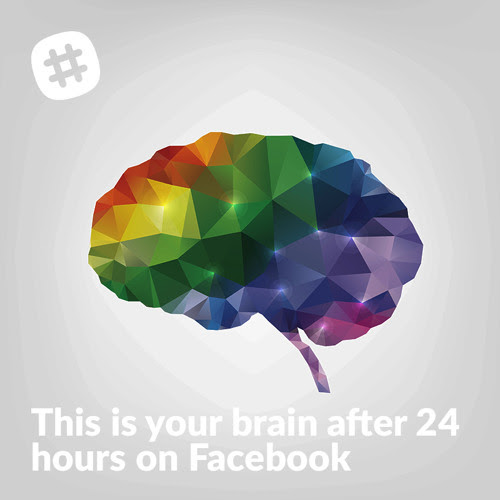This is Your Brain After 24 Hours on Facebook
