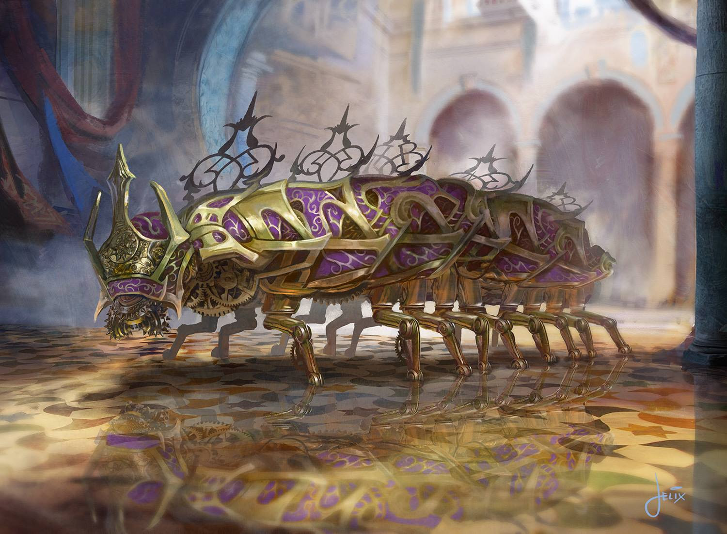 Image result for bastion mastodon aRT mtg