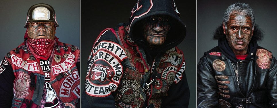 New Zealand's Mighty Mongrel Mob gang in haunting portraits