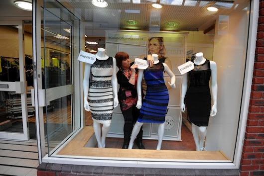The Dress: A Black-and-Blue Debate Over the Color of a Dress Stirs Social Media - WSJ