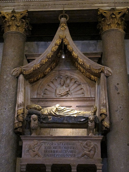 The Antipope Giovanni XXIII & His Tomb