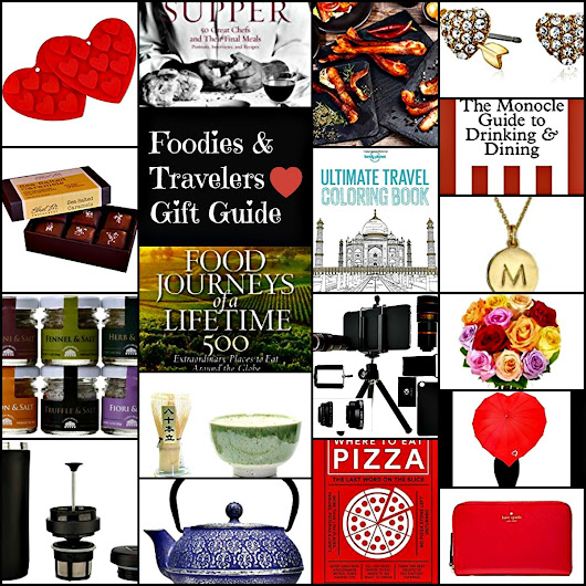 Valentine's Gift Guide for Food and Travel Lovers - Spinach Tiger