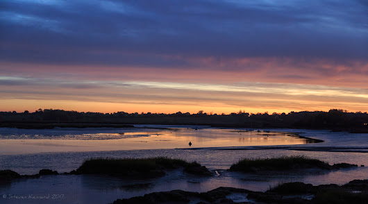 Sunset Over the Deben