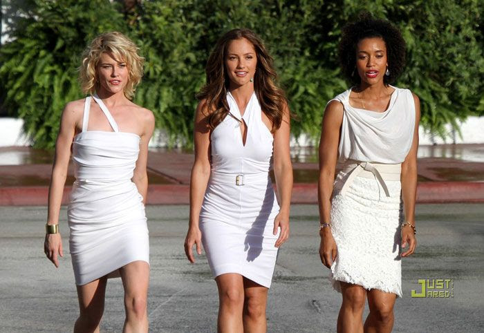 Minka Kelly, Rachael Taylor and Annie Ilonzeh star in the updated version of CHARLIE'S ANGELS.