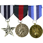 Set of 3 Military Medals