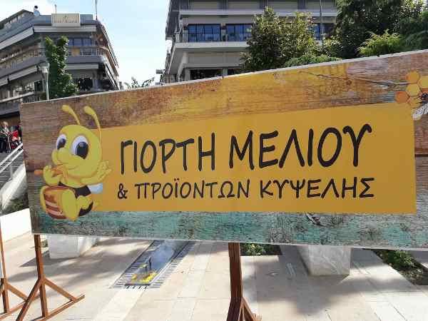 Το ντόπιο μέλι είχε την τιμητική του στην κεντρική πλατεία Κοζάνης-1η Γιορτή Μελιού