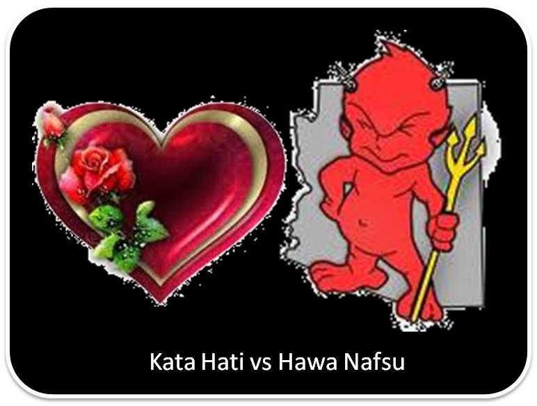 Nafsu vs Akal