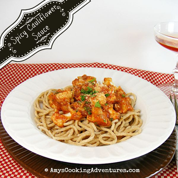 Spaghetti with Spicy Cauliflower Sauce
