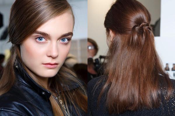 acconciature capelli lisci semi raccolti - Acconciatura per cerimonia capelli raccolti Hairstyle tutorial YouTube