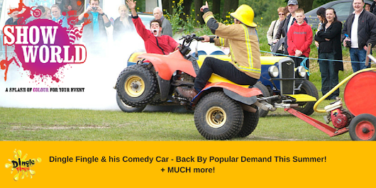 Dingle Fingle's Comedy Car - Back By Popular Demand! -