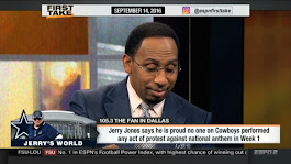 Stephen A. Smith Points Out NFL's Paid Patriotism Problem