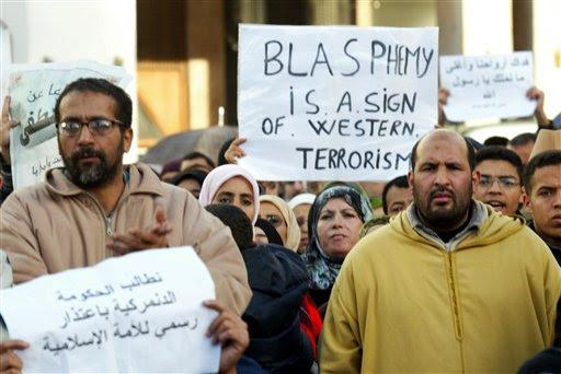 Image result for Muslim Blasphemy