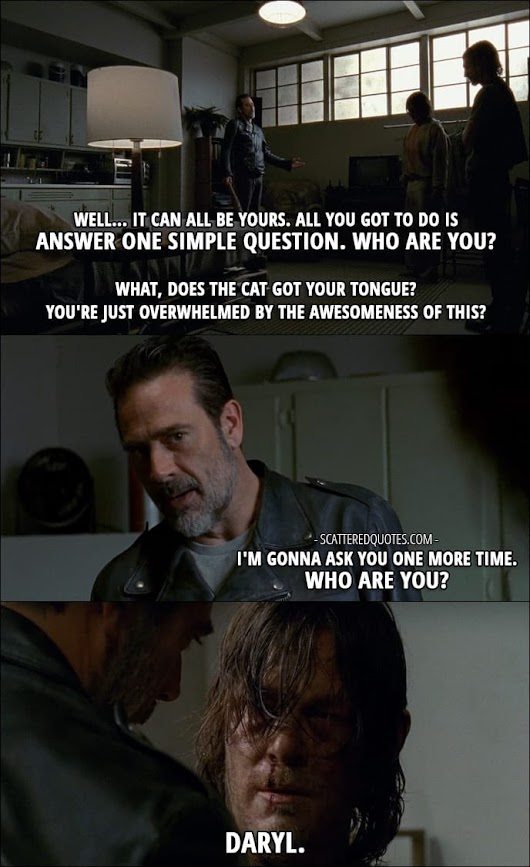 10 Best The Walking Dead Quotes from 'The Cell' (7x03) | Scattered Quotes