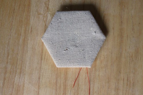 """Step 12: """"Right side"""" of Completed Hexagon"""