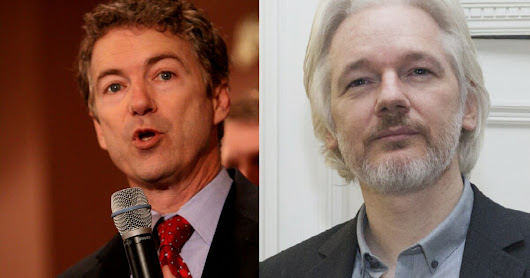 EXCLUSIVE: Senator Rand Paul Thinks Julian Assange Should Be Granted Immunity for Testimony
