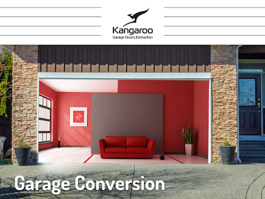 Garage Conversion - Kangaroo Garage Doors