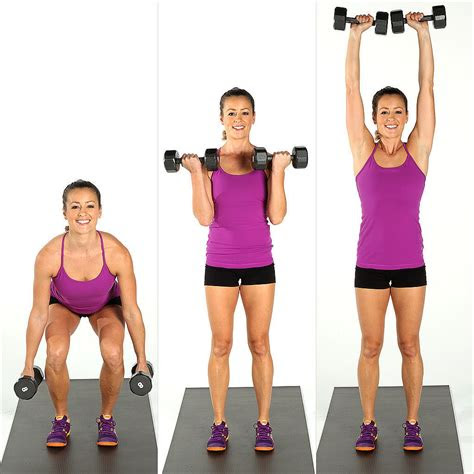 dumbbell arm exercises  beginners popsugar fitness