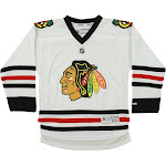 Reebok NHL Youth Chicago Blackhawks Team Replica Jersey, White Size - L/XL