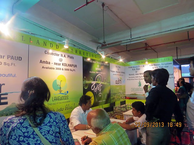 www.sellanddmarketing.com - Agrowon Green Home Expo 2013 Season 3 - Exhibition of Weekend Homes, 2nd Homes, Farm House Plots, N A Plots & Bungalow Plots  - 21st & 22nd September 2013