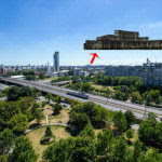 vedere balcon pe zi cu tramvai copy