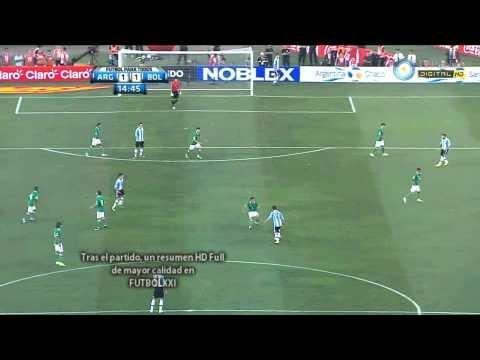 Argentina Bolivia  gol dI  LavezzI