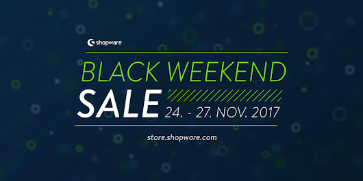 Shopware Black Weekend Sale im Community Store 2017 - BlueWolf-Produktion | Webdesign + Shopwareprofi