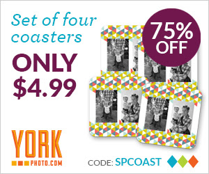 Set Of 4 Custom Design Coasters – Only $4.99 – You Save $15!
