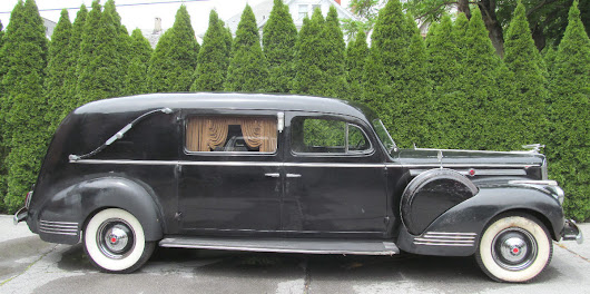 1942 Packard Henney 120 Hearse Funeral Car