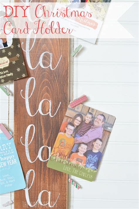 DIY Christmas Card Holder Pictures, Photos, and Images for