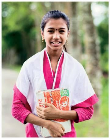 Aditi tiene 10 años, es de Bangladesh y quiere ir a la universidad.
