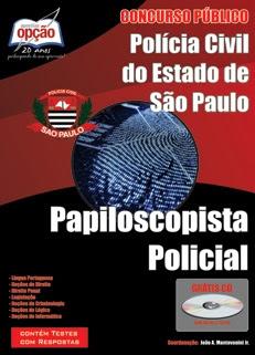 Polícia Civil/SP-PAPILOSCOPISTA POLICIAL