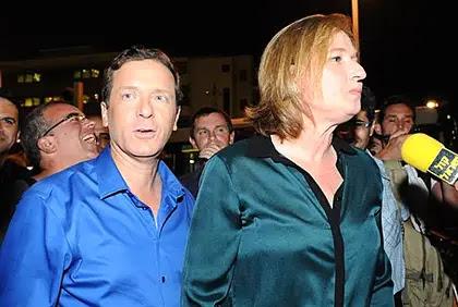 Yitzhak Herzog, Tzipi Livni