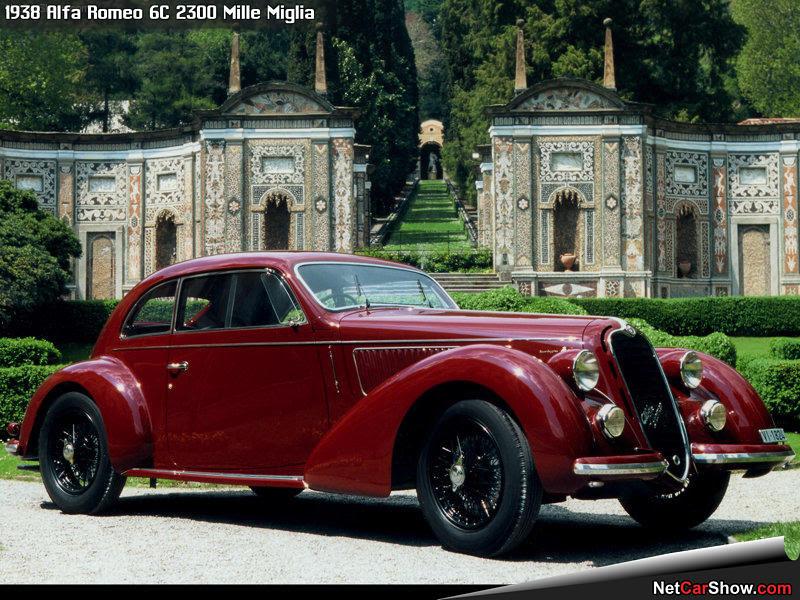 Alfa Romeo 6C 2300 Mille Miglia (1938) - Front Angle - 1 of 1, 800x600