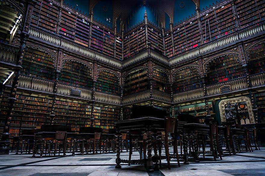 Biblioteca de Real Gabinete Portugués de Lectura, Río de Janeiro, Brasil
