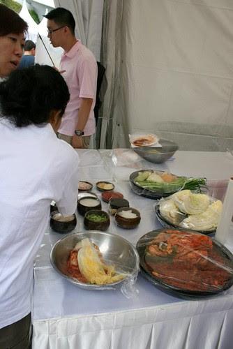 Free kimchi-making class