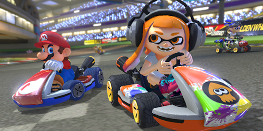 Mario Kart 8 Deluxe, Splatoon 2 lead limited initial Switch game lineup