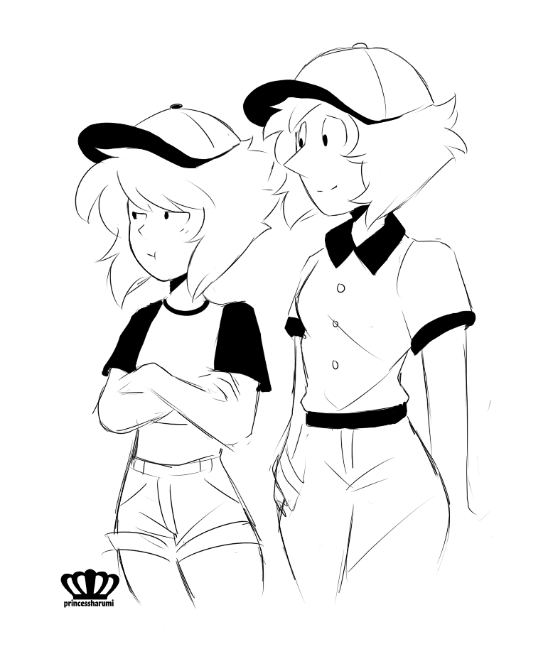 baseball doodles ~