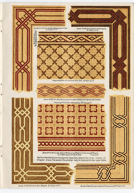 Brochure Shows Parquet Patterns From 1895 - Wood Floor Business Magazine