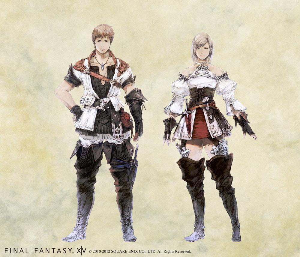 Bard - Bard armor sets | FFXIV ARR Forum - Final Fantasy ...