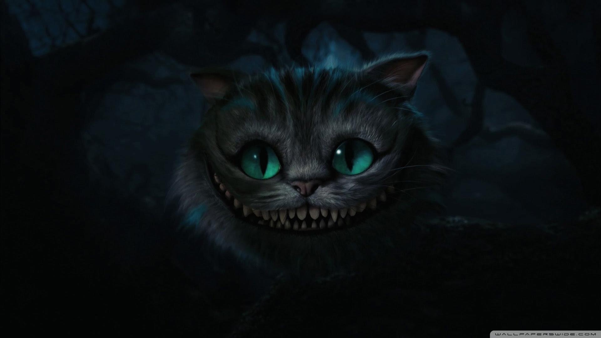 Cheshire Cat Alice In Wonderland Uhd Desktop Wallpaper For