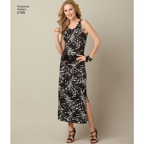 Simplicity Pattern 2189 Misses' & Plus Size Sportswear