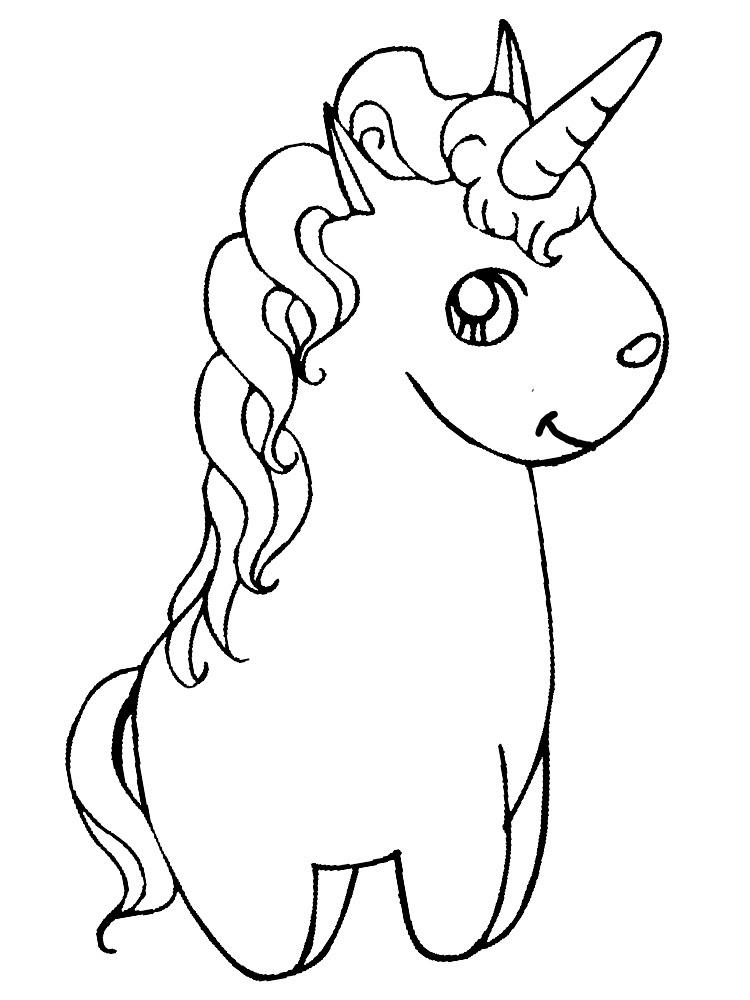 Descargar Gratis Dibujos Para Colorear Unicornio