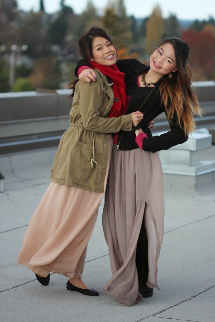 Maxi Skirts for Winter