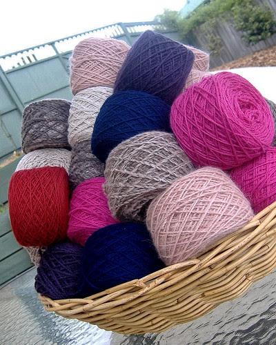 more reclaimed yarn - january