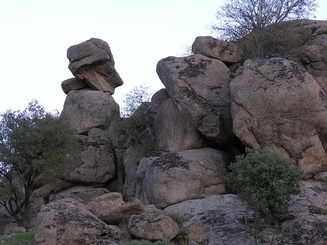 Piedra del Rey Moro. Foto original del blog Toledo Ciudad Imperal